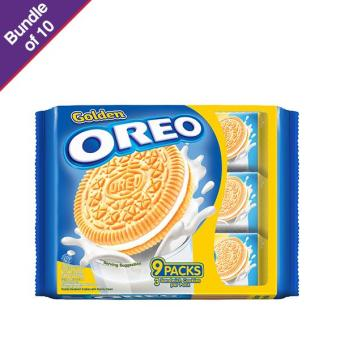 Golden Oreo Vanilla 264.6g - Bundle of 10