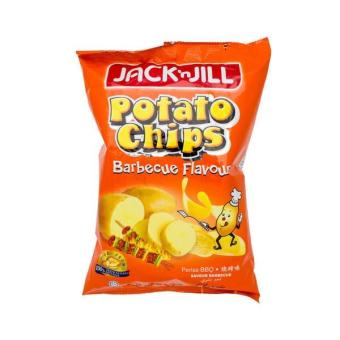 Harga Jack & Jill Potato Chips - Bbq (75G)