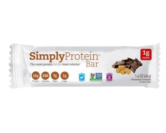 Harga Simply Protein Bar - Chocolate Caramel(x15)
