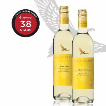 Harga [2 bottles Offer] Wolf Blass Yellow Label Moscato (750ml)
