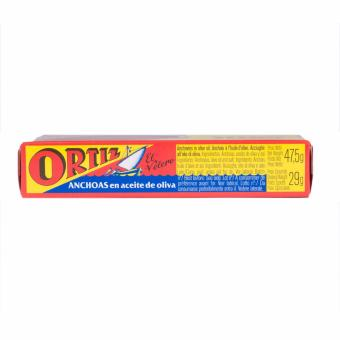 Ortiz Anchovy Fillets In Olive Oil - 47.5g (3 Packs) - 4