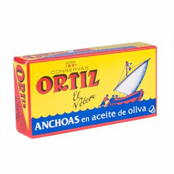 Ortiz Anchovy Fillets In Olive Oil - 47.5g (3 Packs) - 2