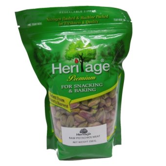 Harga HERITAGE PISTACHIOS WITHOUT SHELL 250 GMS