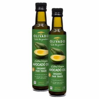 Harga Olivado Extra Virgin Organic Avocado Oil 250ml x 2 bot (Bundle Deal)