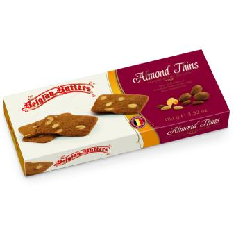 Harga Belgian Butters Almond Thins 100g