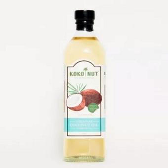 Harga Kokonut 100% Coconut Cooking Oil 750ml 100% Natural Product Perfect for Deep Fry Stir Fry without Coconut Scent