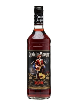 Harga Captain Morgans Black Rum 700 ml