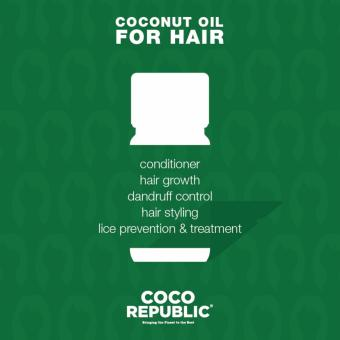 Harga Coco Republic Coconut Oil 400ml