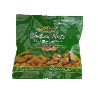 Harga 6 X 35Gms Pouches Nut Walker Thai Lime & Chilli Cashew Nuts