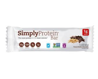 Harga Simply Protein Bar - Peanut Butter Chocolate(x15)