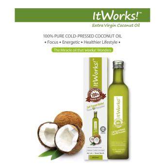 Harga ItWorks! Extra Virgin Coconut Oil 500ml