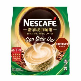 NESCAFÉ® SG White Coffee Gao Siew Dai Hazelnut 15S