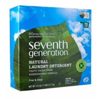 Seventh Generation Free And Clear Laundry Powder