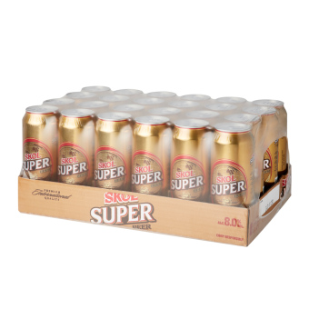 Harga SKOL SUPER CAN ( 24 x 500ML )