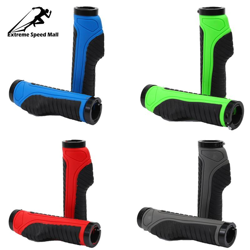 1 Pair Mountain Road Bicycle Handlebar Grips Ergonomic Rubber *Bike Handle Grips