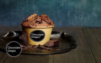 Harga Chocolate Origin 2 Cups Single-Scoop Dark Chocolate Gelato. 7Locations