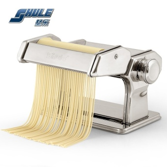 Harga 2017 Pasta Noodle Makers Machine Pressed Pasta Machine HouseholdKitchen Double Knife 7 Files - intl