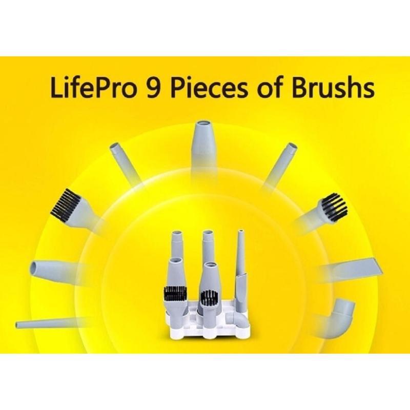 9 pcs set  Brush for Lifepro Vacuum Cleaner DX1000 Singapore