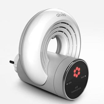 Airvita Korea Airvita-Q Air Purifier with Anions for Home (White) -intl - 3
