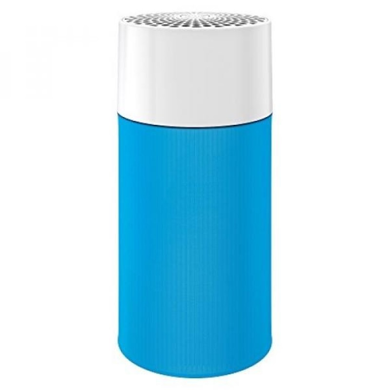 Blue Pure 411 Air Purifier with Particle and Carbon Filter for Allergen and Odor Reduction, Washable Pre-Filter, Small Rooms, by Blueair - intl Singapore