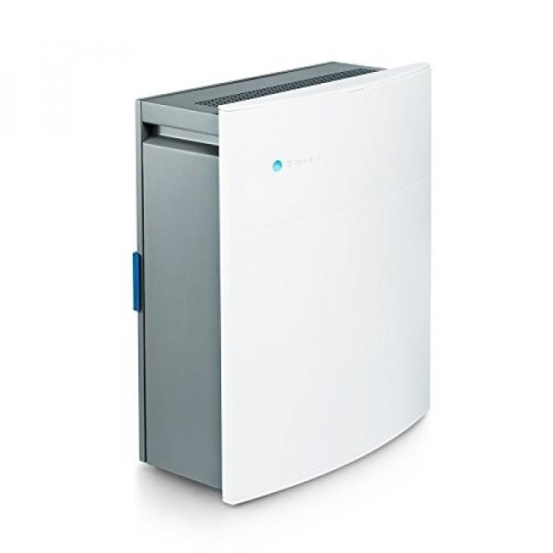 Blueair Classic 205 Air Purifier with HEPASilent Filtration for Allergen Reduction, Rooms 279 sq. ft. WiFi Enabled, ALEXA compatible - intl Singapore