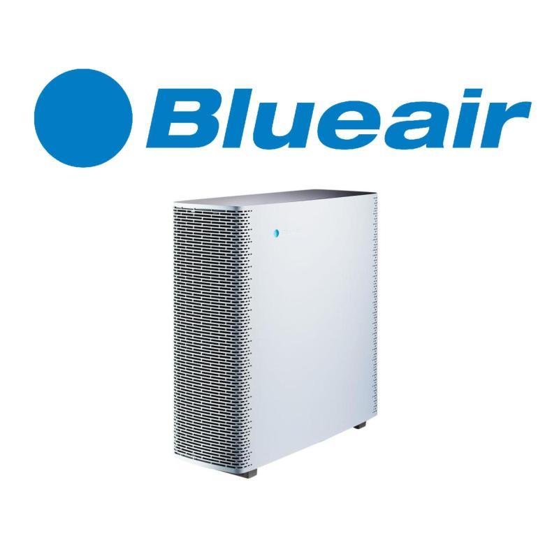 Blueair Sense+ Air Purifier With Hepa Particle Filter Polar White Singapore