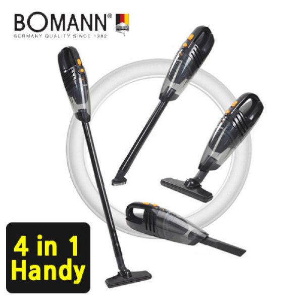 [BOMANN] 4in1 Cordless vacuum  Cleaner VC7211 / power suction / HEPA Filter / handheld Vacuum Cleaner / Multiple Use / brush cleaner / vaccum cleaner Singapore