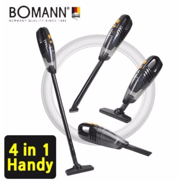 BOMANN VC7210 4in1 Cordless vacuum Cleaner / power suction 220V / HEPA Filter / handheld Vacuum Cleaner / Multiple Use / brush cleaner / vaccum cleaner ♡ - intl Singapore