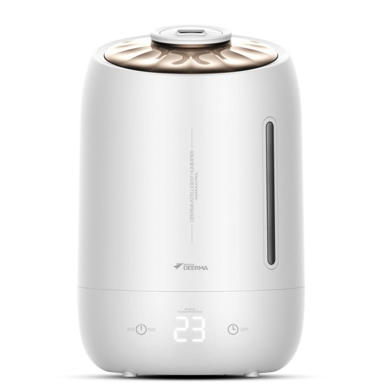 Deerma Ultrasonic Air Humidifier 5L Large Capacity Mist Aroma Diffuser Essential Oil Available - intl Singapore