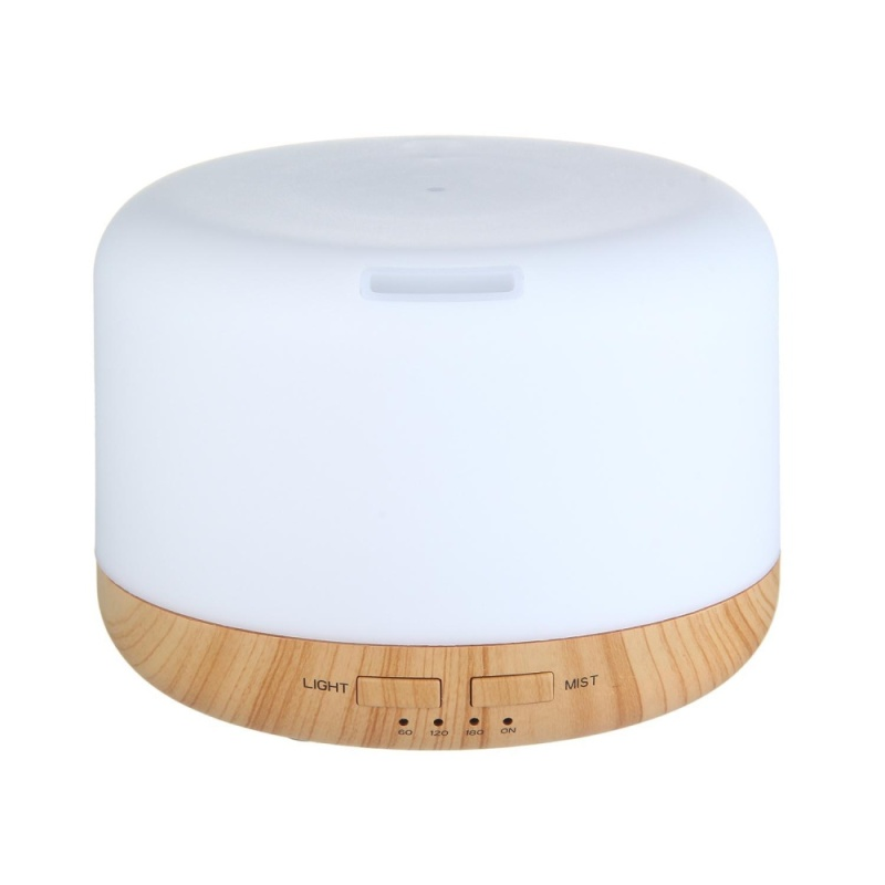 dmscs 400ML Oil Aroma Diffuser Ultrasonic Mist Humidifier LED 7-Color Changing Light (US/CA/JP/BR/MX) - intl Singapore