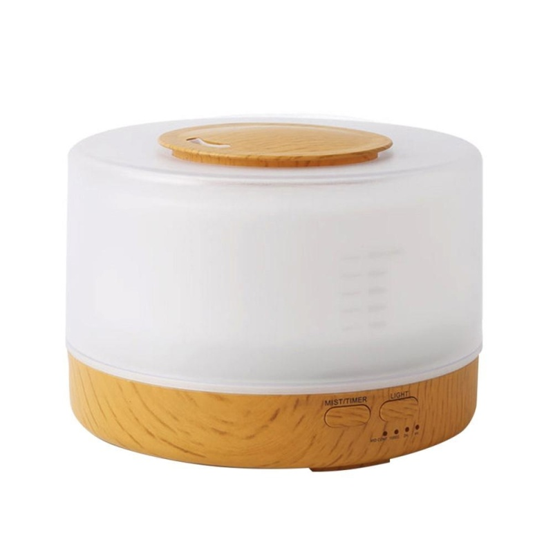 dmscs Cool Mist Humidifier Home Fragrance Diffuser 2-in-1, Classical Style with 7 Colors Light Mode, Large Capacity Enough for 16 Hrs Working, Sleep Mode - intl Singapore