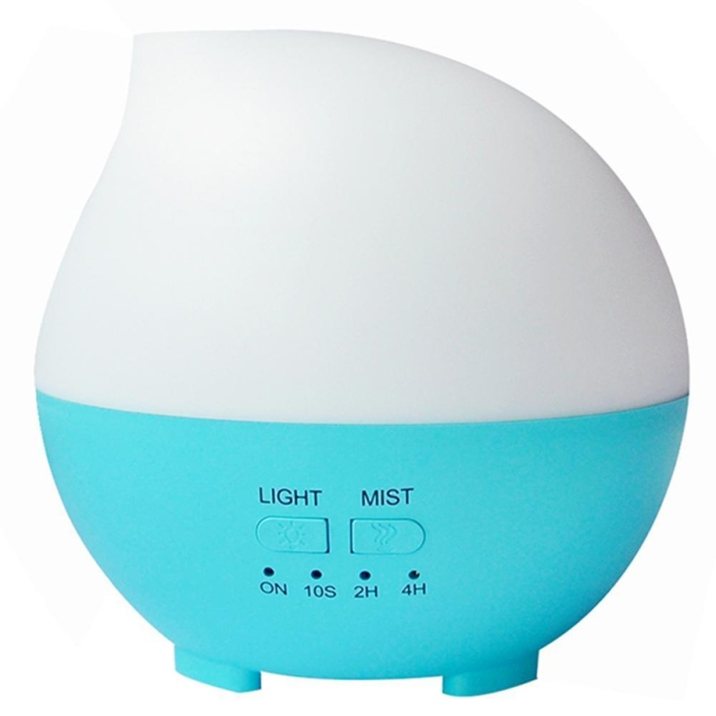 dmscs Essential Oil Diffuser, 300ml Ultrasonic Diffusers Cool Mist Aroma Humidifier with Adjustable Mist Mode, Waterless Auto Shut-off and 7 Color LED Lights Changing for Home Office Bedroom - intl Singapore