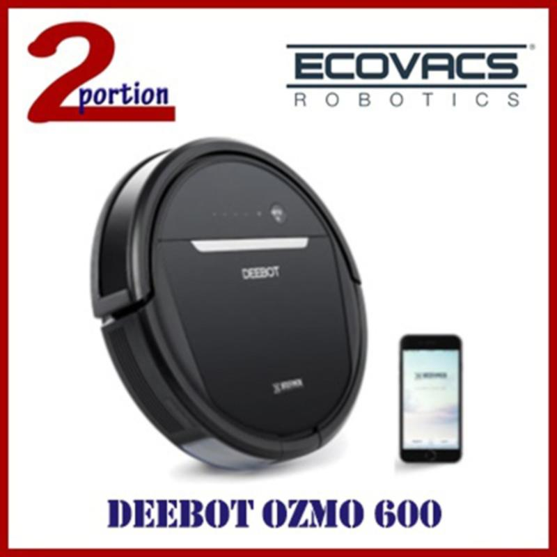 ECOVACS DEEBOT OZMO 600 ROBOT VACUUM CLEANER WITH APP CONTROL FUNCTION Singapore
