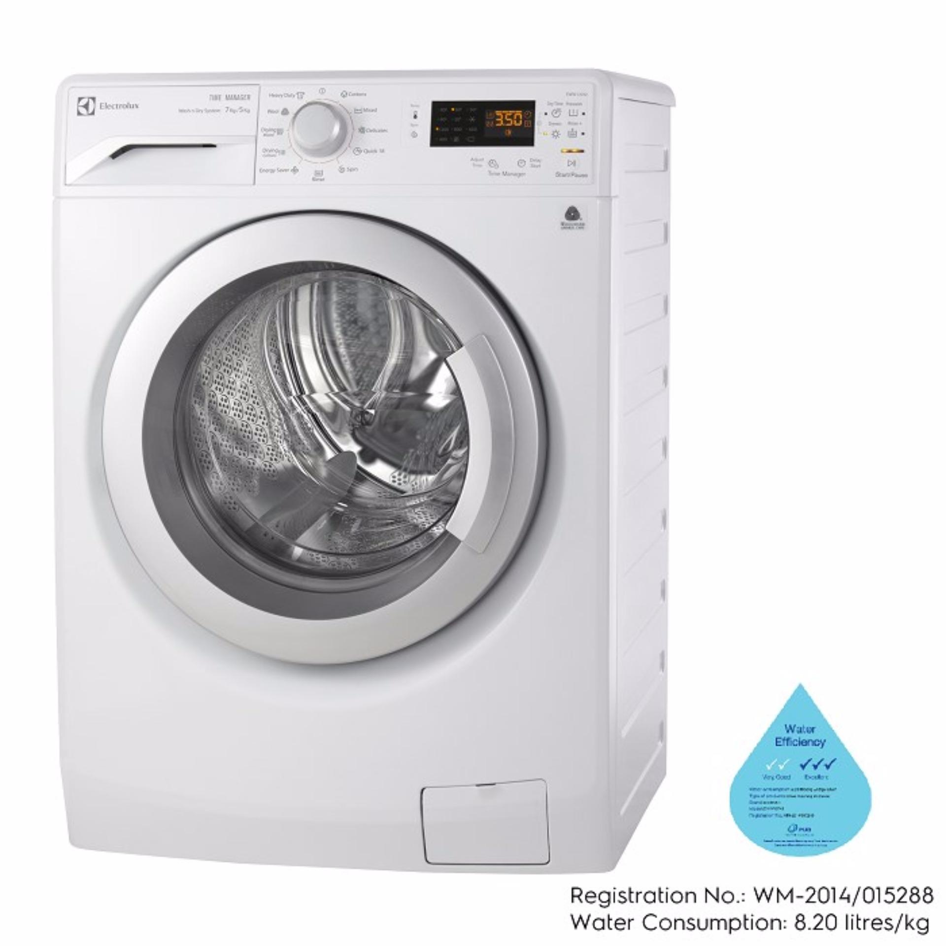 electrolux eww12742 7kg5kg front load washer dryer lazada singapore