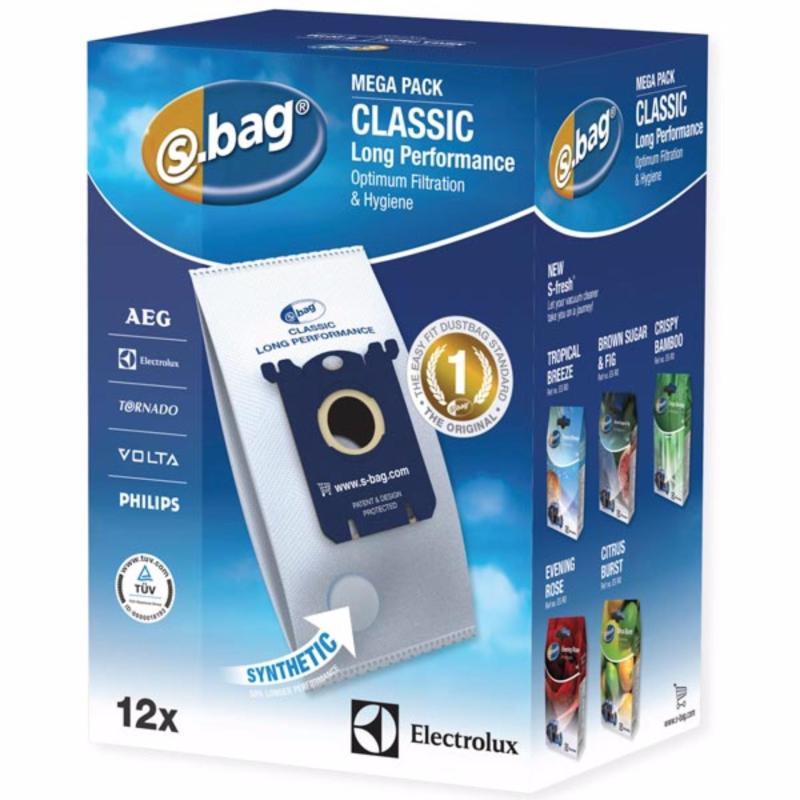 Electrolux S-bag® Classic Long Performance Vacuum Cleaner Bag E201M 12pcs/set Singapore