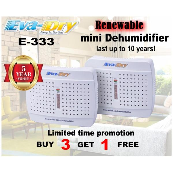 Eva-Dry Renewable mini dehumidifier E-333(small dehumidifier) Singapore