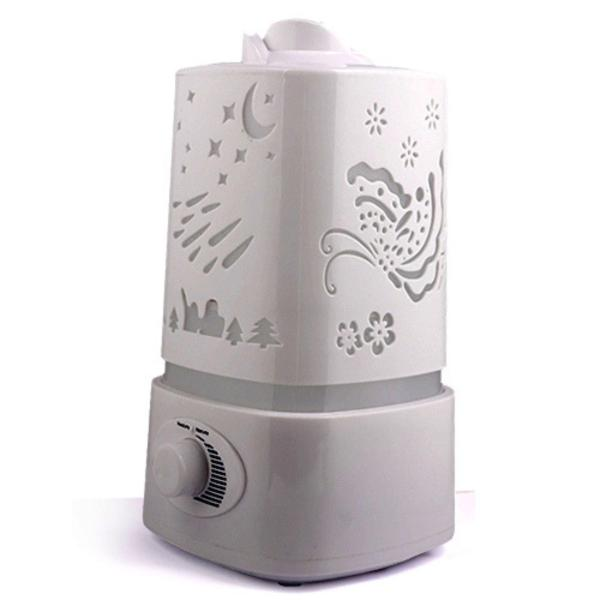 Humidifier Air Fresher 5 in 1 Ultrasonic humidifier Aroma oil Diffuser (Free essential oil ) 五彩熏香加湿机 Singapore