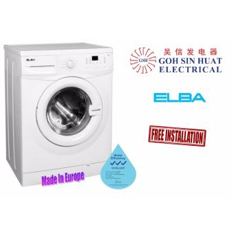 Harga ELBA EWF 1076 A Front Load Washing Machine 7kg (White)