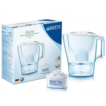 Harga BRITA Aluna 3.5L Litre XL Large Home Water Filter Jug + 1 MAXTRA Filters