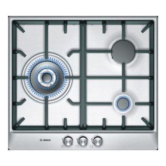Harga Bosch PCC615B90K Stainless Steel Gas 3 Hob