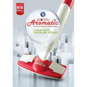 Harga Eco-Vitta Steam Mop * Multi-Purpose * Sweet Aroma Steam Essential Oil/Save Water/Deep Clean/Sanitise