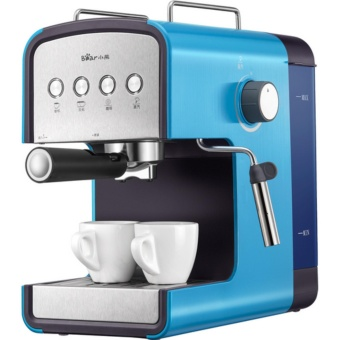 Harga Bear KFJ - A13H1 espresso machine use commercial automatic steam style coffee pot (Blue) - intl