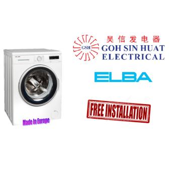 Harga ELBA EWF 8103 VT 8kg Front Load Washing Machine (White)