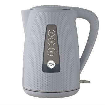 Harga 707 KE174 Electric Kettle 1.7L (Golf White)