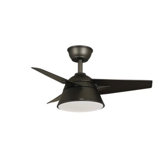 "Harga Acorn AC-268 Rapido 32"" Ceiling Fan (COFFEE) with 22W LED RGB Light"