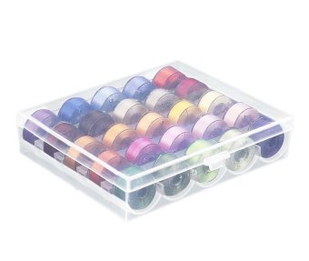 leegoal 25pcs Sewing Machine Bobbins With Storage Box(Not Include Sewing Thread) - intl - 5