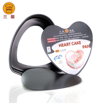 Harga Three utensils baking mould sn6906 8 inch heart shaped cake household activities shaped cake mold
