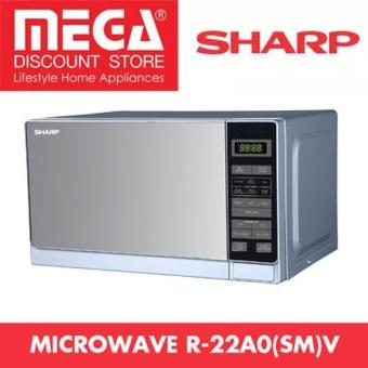 Harga Sharp R-22A0(Sm)V 20L Touch Control Microwave Oven