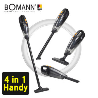 Harga [BOMANN] 4in1 Cordless vacuum Cleaner / VC7210 / power suction / HEPA Filter / handheld Vacuum Cleaner / Multiple Use / brush cleaner / vaccum cleaner