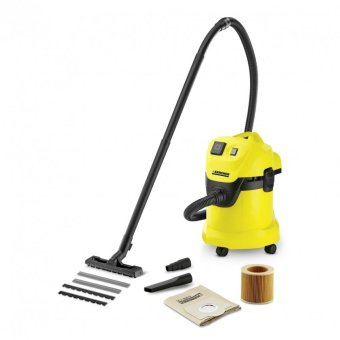 Harga Karcher WD3 Wet and Dry Vacuum Cleaner Yellow
